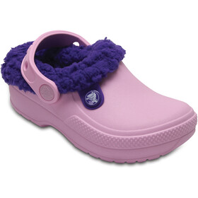 Crocs Classic Blitzen III Clogs Kinder ballerina pink/ultraviolet
